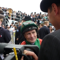 Pat Smullen, winning jockey of the Epsom Derby 2016