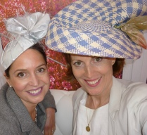 Chloe Haywood Milliner extraordinaire. Hats off after this pic. It's been a great day!